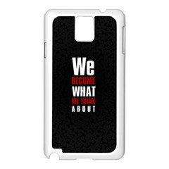 Poster Samsung Galaxy Note 3 N9005 Case (white) by chirag505p