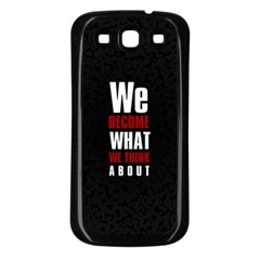Poster Samsung Galaxy S3 Back Case (Black) by chirag505p