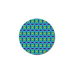 Seamless Background Wallpaper Pattern Golf Ball Marker by Simbadda