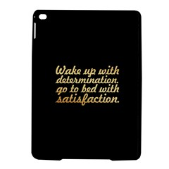 PosterWake up with determination......inspirational quotes iPad Air 2 Hardshell Cases by chirag505p