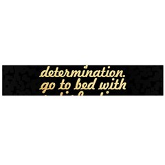 Posterwake Up With Determination      Inspirational Quotes Flano Scarf (large) by chirag505p