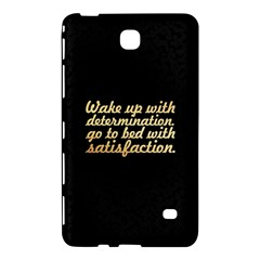 Posterwake Up With Determination      Inspirational Quotes Samsung Galaxy Tab 4 (7 ) Hardshell Case  by chirag505p
