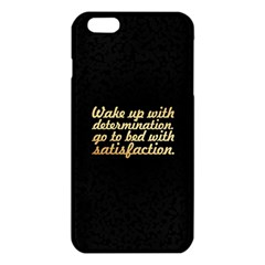 Posterwake Up With Determination      Inspirational Quotes Iphone 6 Plus/6s Plus Tpu Case by chirag505p