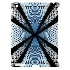 Dimension Metal Abstract Obtained Through Mirroring Apple Ipad 3/4 Hardshell Case (compatible With Smart Cover) by Simbadda