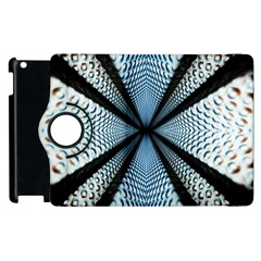 Dimension Metal Abstract Obtained Through Mirroring Apple Ipad 3/4 Flip 360 Case by Simbadda