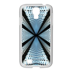 Dimension Metal Abstract Obtained Through Mirroring Samsung Galaxy S4 I9500/ I9505 Case (white) by Simbadda