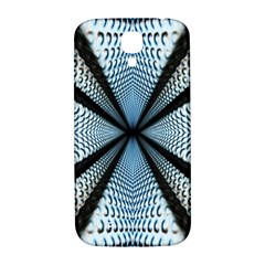 Dimension Metal Abstract Obtained Through Mirroring Samsung Galaxy S4 I9500/i9505  Hardshell Back Case by Simbadda