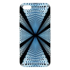 Dimension Metal Abstract Obtained Through Mirroring Iphone 5s/ Se Premium Hardshell Case by Simbadda
