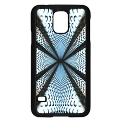 Dimension Metal Abstract Obtained Through Mirroring Samsung Galaxy S5 Case (black)