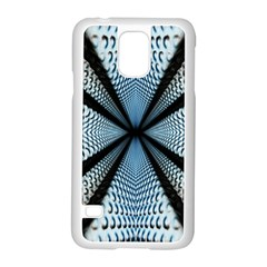 Dimension Metal Abstract Obtained Through Mirroring Samsung Galaxy S5 Case (white) by Simbadda