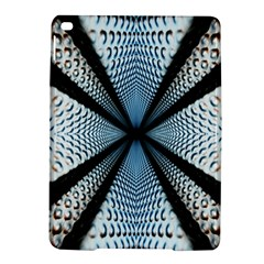 Dimension Metal Abstract Obtained Through Mirroring Ipad Air 2 Hardshell Cases by Simbadda