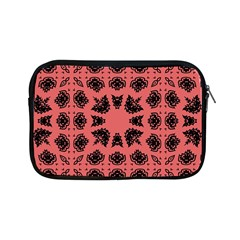 Digital Computer Graphic Seamless Patterned Ornament In A Red Colors For Design Apple Ipad Mini Zipper Cases by Simbadda