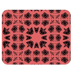 Digital Computer Graphic Seamless Patterned Ornament In A Red Colors For Design Double Sided Flano Blanket (medium)  by Simbadda