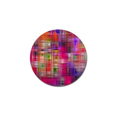 Background Abstract Weave Of Tightly Woven Colors Golf Ball Marker by Simbadda