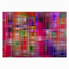Background Abstract Weave Of Tightly Woven Colors Large Glasses Cloth by Simbadda