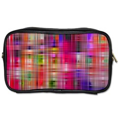 Background Abstract Weave Of Tightly Woven Colors Toiletries Bags 2 Side by Simbadda