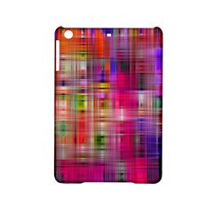 Background Abstract Weave Of Tightly Woven Colors Ipad Mini 2 Hardshell Cases by Simbadda