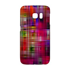 Background Abstract Weave Of Tightly Woven Colors Galaxy S6 Edge by Simbadda