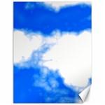 Blue Cloud Canvas 12  x 16