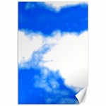 Blue Cloud Canvas 12  x 18