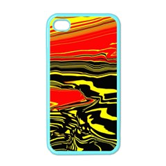 Abstract Clutter Apple Iphone 4 Case (color) by Simbadda