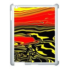Abstract Clutter Apple Ipad 3/4 Case (white) by Simbadda
