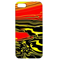 Abstract Clutter Apple Iphone 5 Hardshell Case With Stand by Simbadda