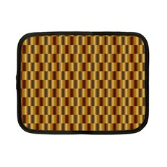 Gold Abstract Wallpaper Background Netbook Case (small)  by Simbadda