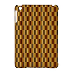 Gold Abstract Wallpaper Background Apple Ipad Mini Hardshell Case (compatible With Smart Cover) by Simbadda