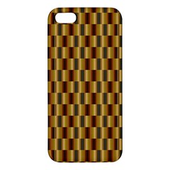 Gold Abstract Wallpaper Background Iphone 5s/ Se Premium Hardshell Case by Simbadda