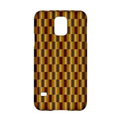 Gold Abstract Wallpaper Background Samsung Galaxy S5 Hardshell Case  by Simbadda
