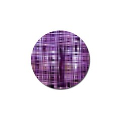 Purple Wave Abstract Background Shades Of Purple Tightly Woven Golf Ball Marker (4 Pack) by Simbadda