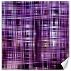 Purple Wave Abstract Background Shades Of Purple Tightly Woven Canvas 16  X 16   by Simbadda