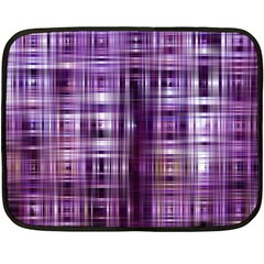Purple Wave Abstract Background Shades Of Purple Tightly Woven Double Sided Fleece Blanket (mini)  by Simbadda