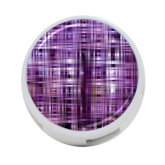 Purple Wave Abstract Background Shades Of Purple Tightly Woven 4 Port Usb Hub (two Sides)  by Simbadda