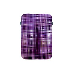 Purple Wave Abstract Background Shades Of Purple Tightly Woven Apple Ipad Mini Protective Soft Cases by Simbadda