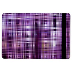 Purple Wave Abstract Background Shades Of Purple Tightly Woven Ipad Air 2 Flip by Simbadda