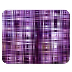 Purple Wave Abstract Background Shades Of Purple Tightly Woven Double Sided Flano Blanket (medium)  by Simbadda
