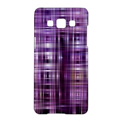 Purple Wave Abstract Background Shades Of Purple Tightly Woven Samsung Galaxy A5 Hardshell Case  by Simbadda