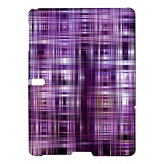 Purple Wave Abstract Background Shades Of Purple Tightly Woven Samsung Galaxy Tab S (10 5 ) Hardshell Case  by Simbadda