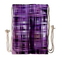 Purple Wave Abstract Background Shades Of Purple Tightly Woven Drawstring Bag (large) by Simbadda
