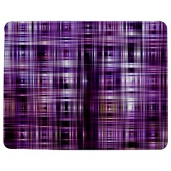 Purple Wave Abstract Background Shades Of Purple Tightly Woven Jigsaw Puzzle Photo Stand (rectangular) by Simbadda