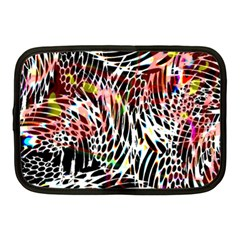 Abstract Composition Digital Processing Netbook Case (medium)  by Simbadda