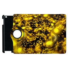 Vortex Glow Abstract Background Apple Ipad 2 Flip 360 Case by Simbadda