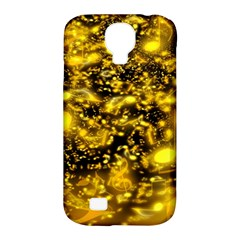 Vortex Glow Abstract Background Samsung Galaxy S4 Classic Hardshell Case (pc+silicone) by Simbadda