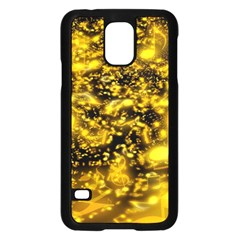Vortex Glow Abstract Background Samsung Galaxy S5 Case (black) by Simbadda