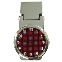 Abstract Dotted Pattern Elegant Background Money Clip Watches by Simbadda