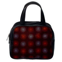 Abstract Dotted Pattern Elegant Background Classic Handbags (one Side) by Simbadda