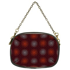 Abstract Dotted Pattern Elegant Background Chain Purses (One Side)  by Simbadda
