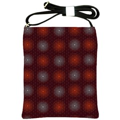 Abstract Dotted Pattern Elegant Background Shoulder Sling Bags